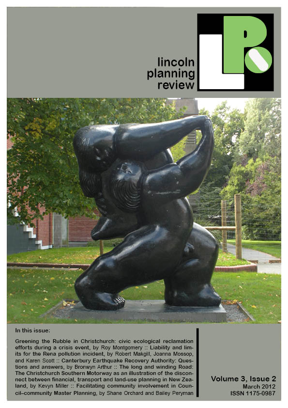 Lincoln Planning Review Volume3 Number2